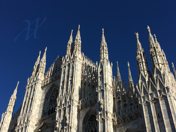 the Duomo, the marble giant