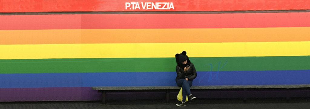 Pride Square and the LGBTQ district