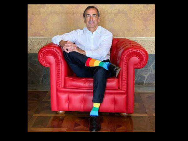 Major of Milan for the Gay Pride